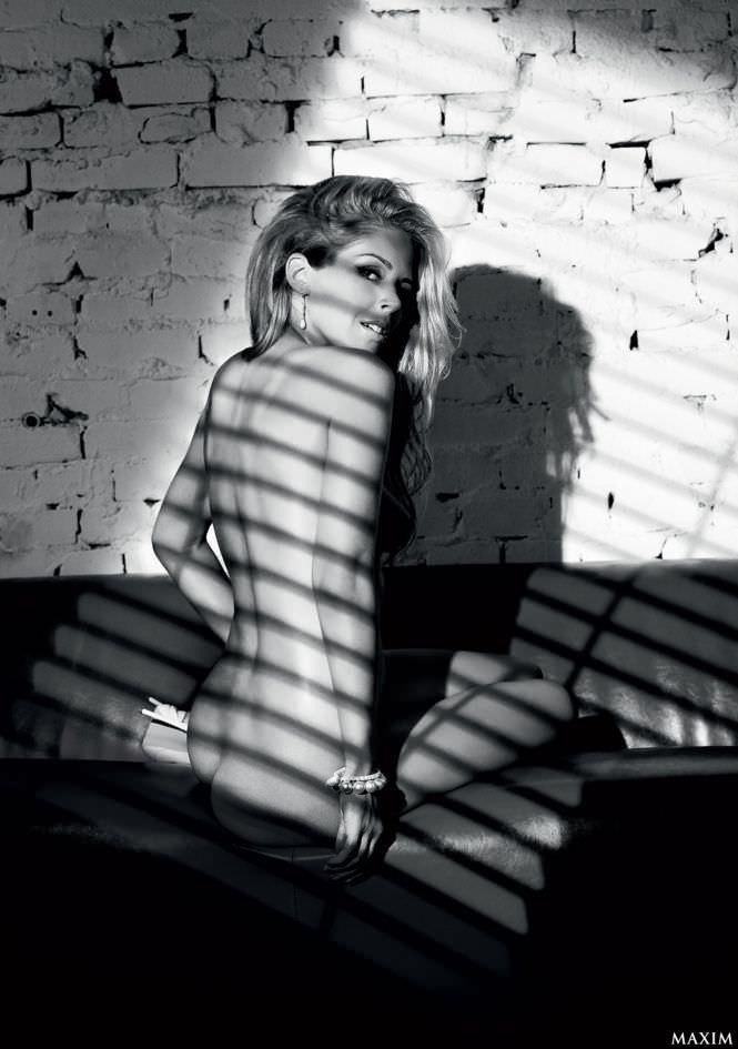 Мария Зыкова фото из журнала максим 2009