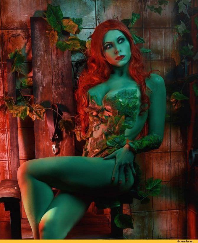 Елена Самко фото в образе героини комиксов