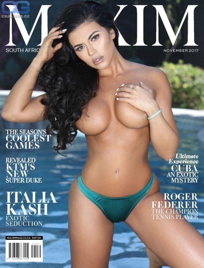 Тучи Кэш фото с обложки мужского журнала