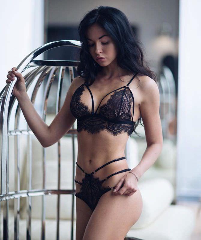 Анастасия Тукмачева фотосессия в красивом белье